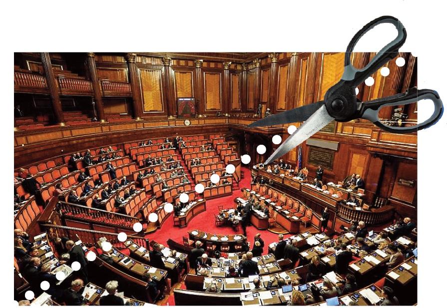 Taglio parlamentari primo s del senato il marco polo for Numero parlamentari italiani